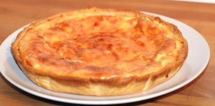 la recette de la véritable quiche Lorraine selon Frédéric ANTON « NancyBuzz