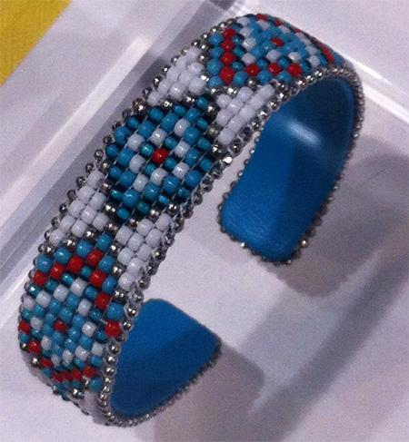 bracelet manchette agatha