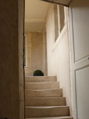 escaliers hotel d'ahussonville nancy