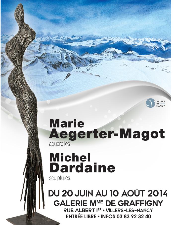 exposition dardaine aegerter-magot galerie graffigny villers lès nancy