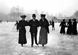 patineurs, les lorrains en 1900 paul michels