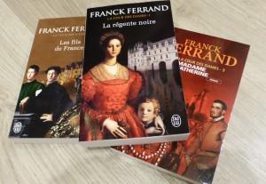 frank ferrean la cour des dames françois 1er livre la raverne du livre nancy