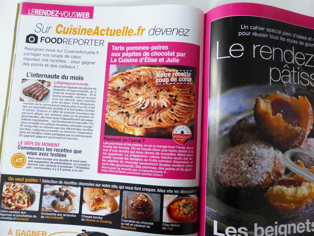 Magazine Cuisine Actuelle Nancybuzz