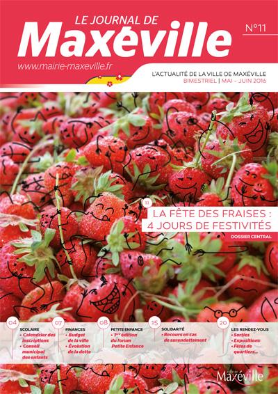journal de maxeville n11 fete des fraises