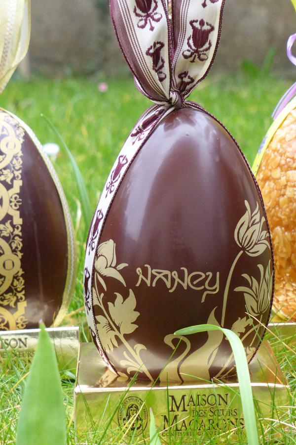 oeuf paques art nouveau nancy chocolat sans sucre les soeurs macarons nancy