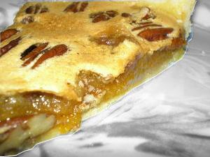recette de la tarte aux noix de pécan d'eva harlé