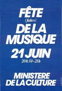 fete de la musique 1982