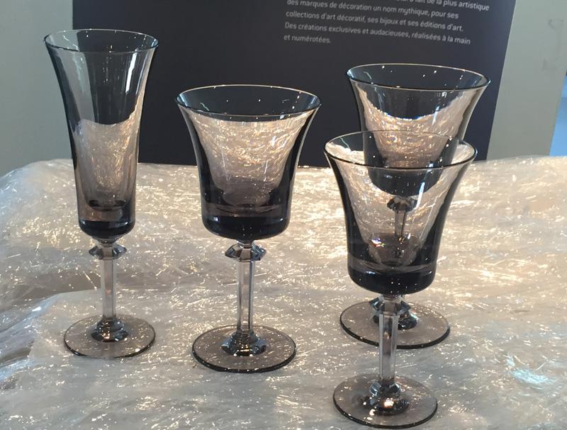 royale de champagne cristal vente au pavillon de Daum second choix et fins de séries
