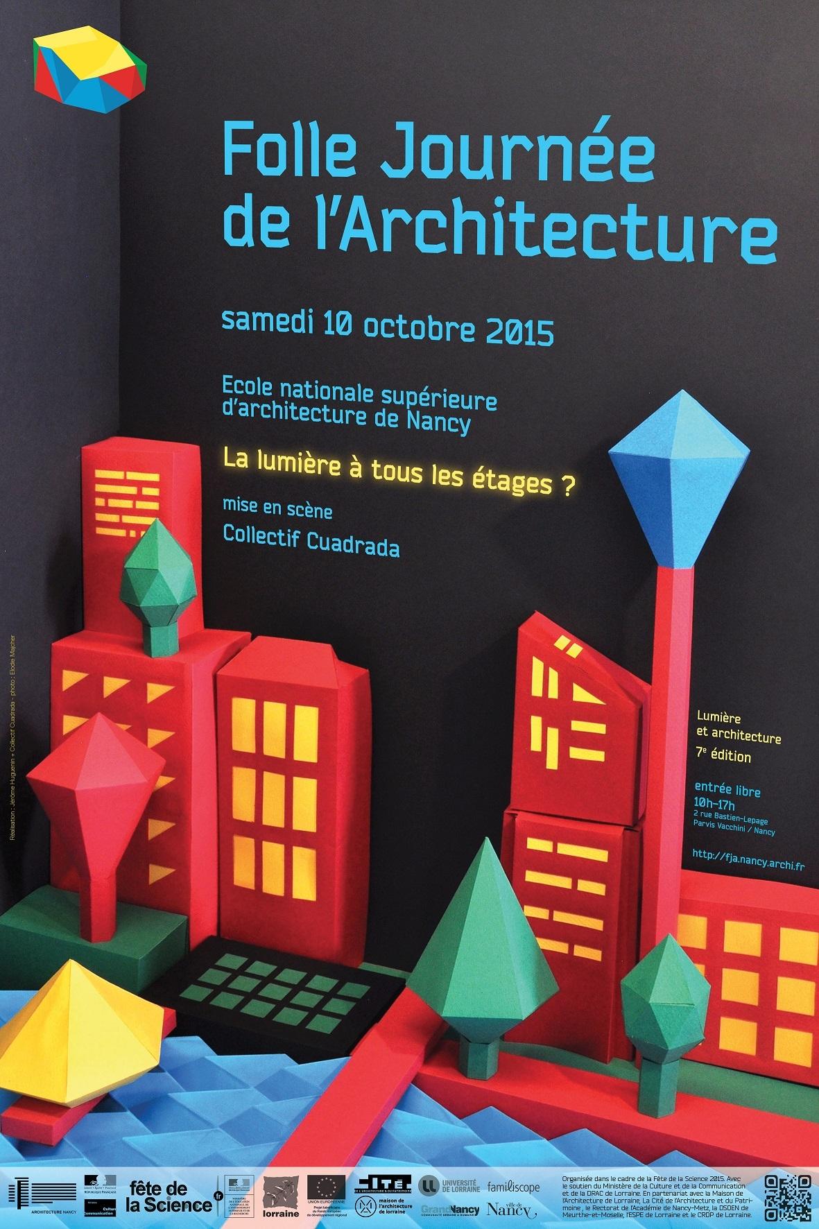 folle journée de l'architecture nancy