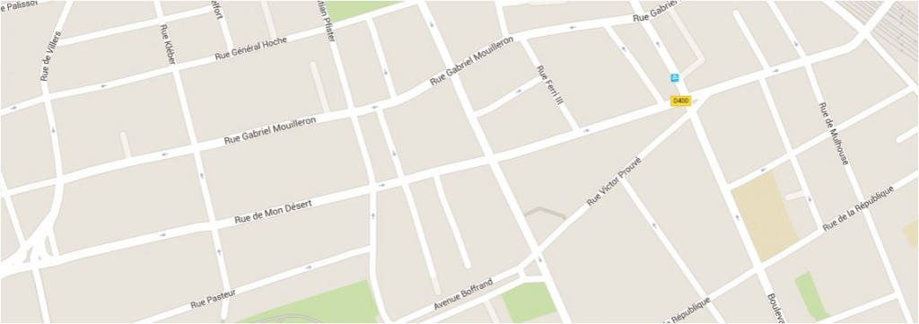 plan rue de mon desert nancy