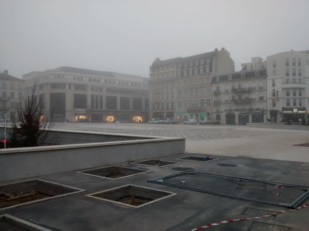 Place Thiers-Nancy-Gare de Nancy- Projet urbain Nancy Grand Coeur