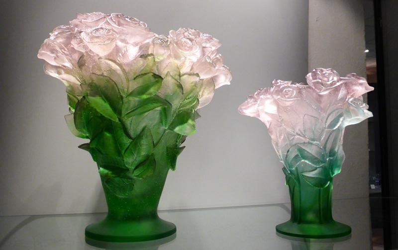 Le cristal ... Daum-vase-roses-declasses
