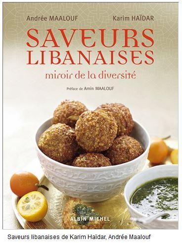 livre recetees saveurs libanaise andrée maalouf