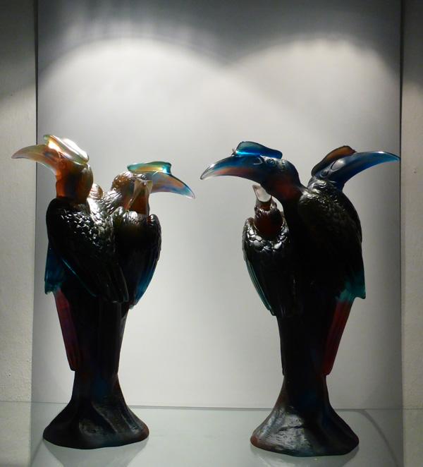 sculptures calaos de daum