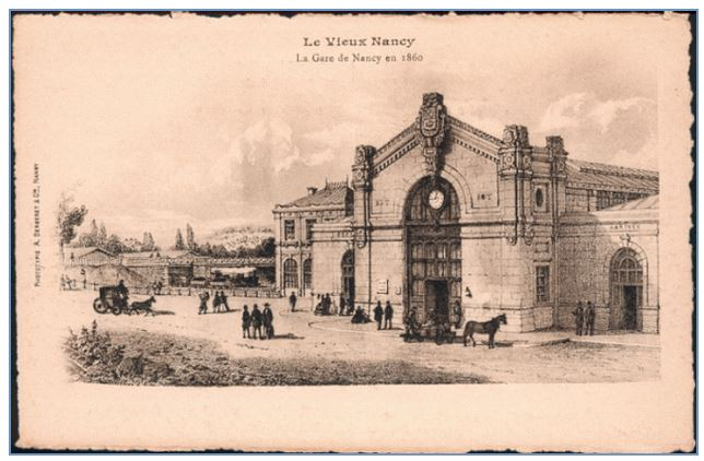 gare de nancy 1860