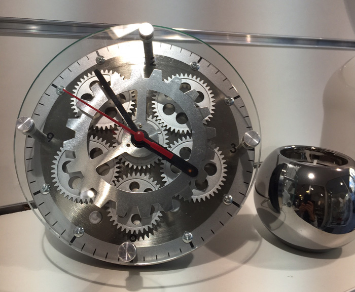 horloge métal nancy