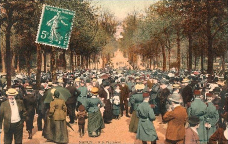 cartes postales nancy hier