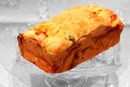 cake poireau gouda tomates de eva harlé