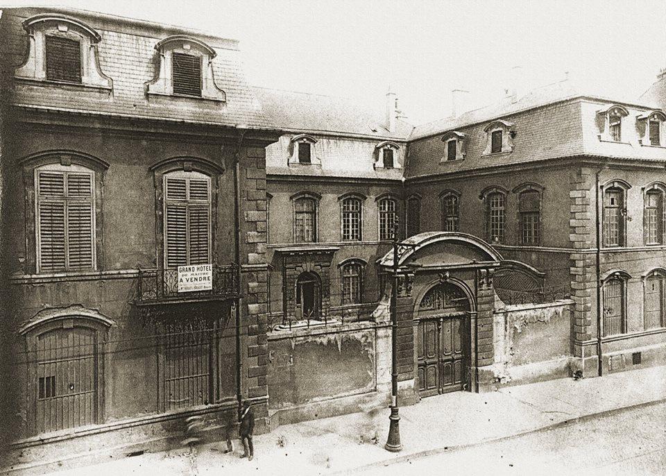 nancy histoire de la rue Saint hôtel mahuet