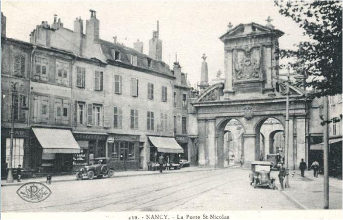 porte saint nicolas rue saint dizier nancy