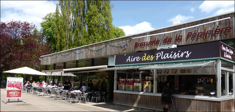 brasserie du parc de la pepiniere nancy brasserie restaurant bordes