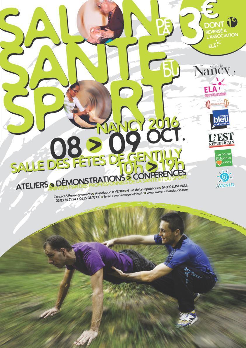 salon sport et santé nancy gentilly 8 et 9 octobre 2016