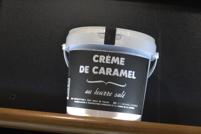 pot de 1 kilo de creme de caramel au beurre salé isabelle lefort sucre & co houdemont