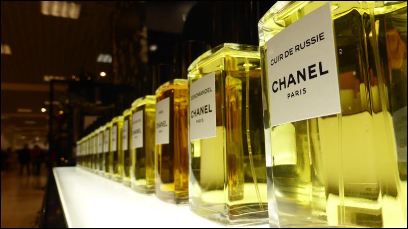 les exclusifs parfums chanel