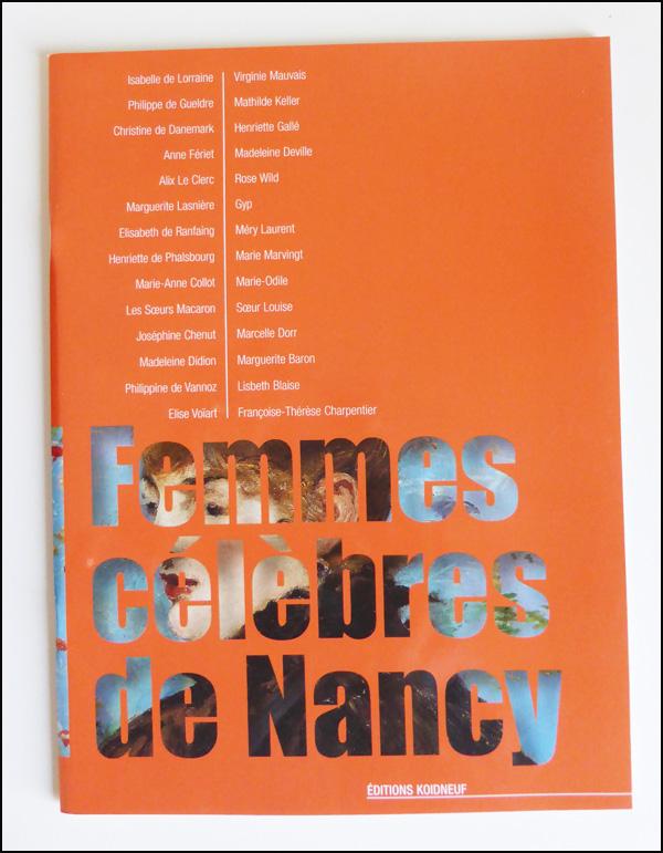 livre femmes celèbres de nancy koidneuf hall du livre nancy