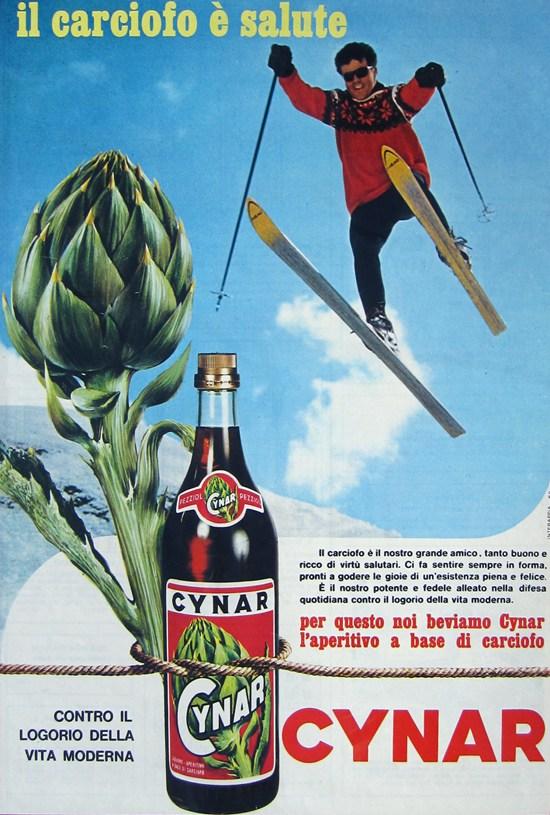 cynar pour spritz