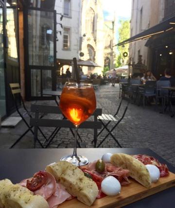 nancy restaurant italien biscotto aperitif aperol spritz