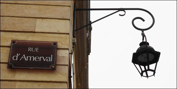 nancy histoire de la rue d'Amerval