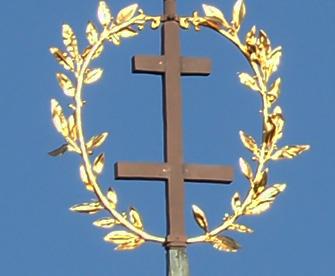 nancy fleche du musee lorrain croix de lorraine
