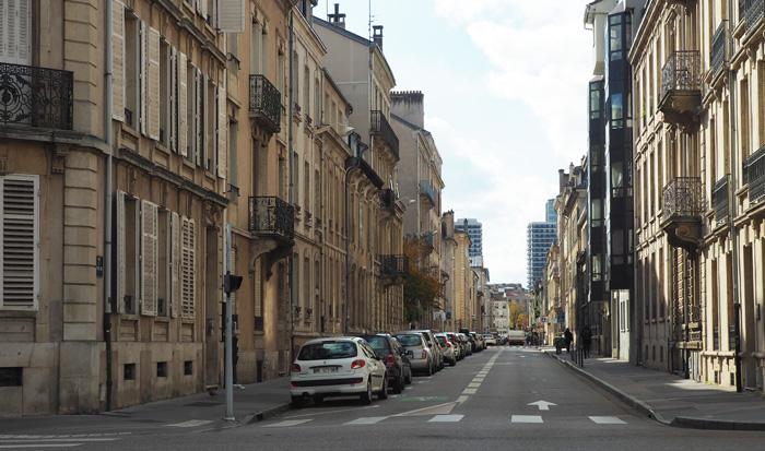 histoire de la rue des Tiercelins nancy