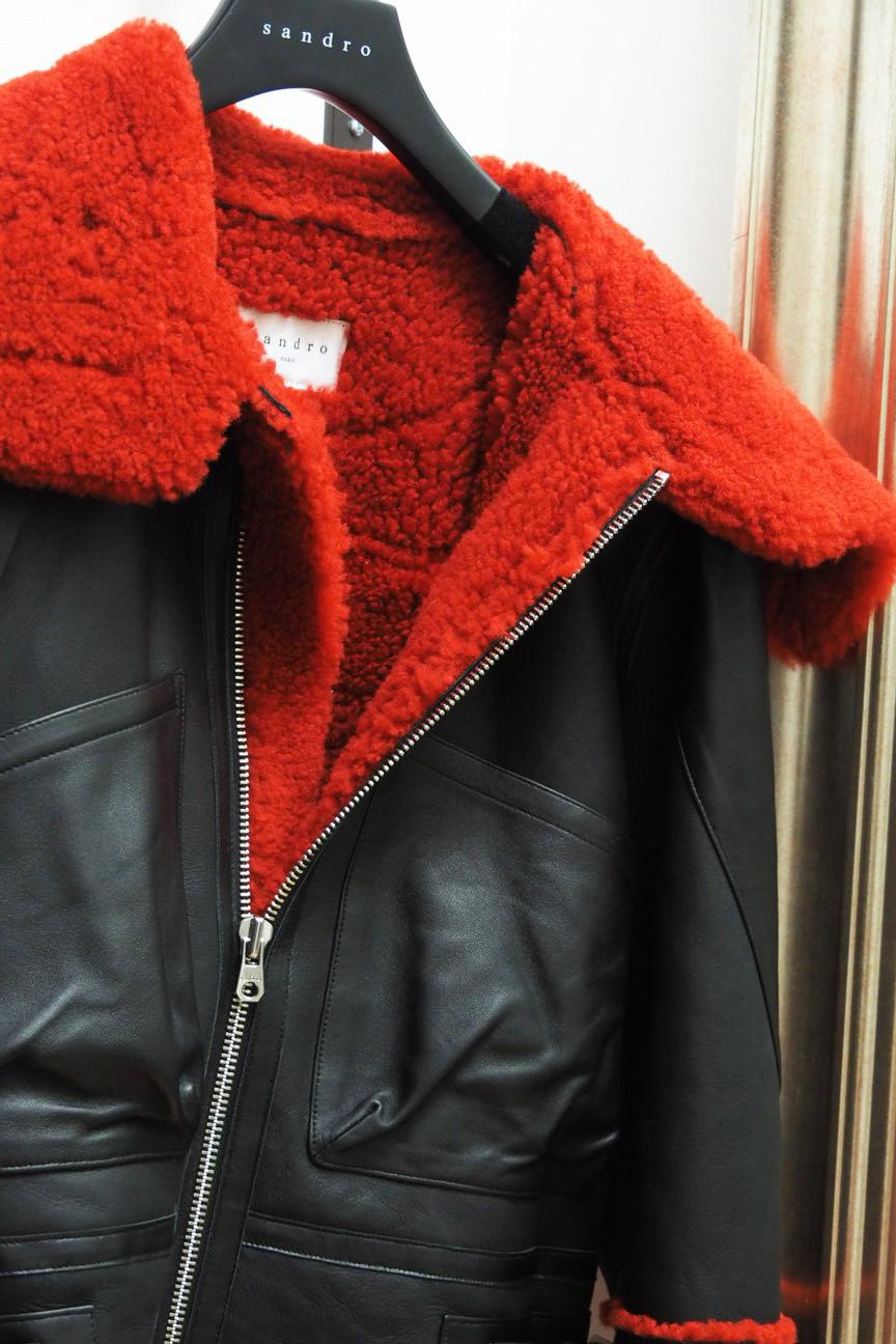 veste-sabdro-fourrure-rouge