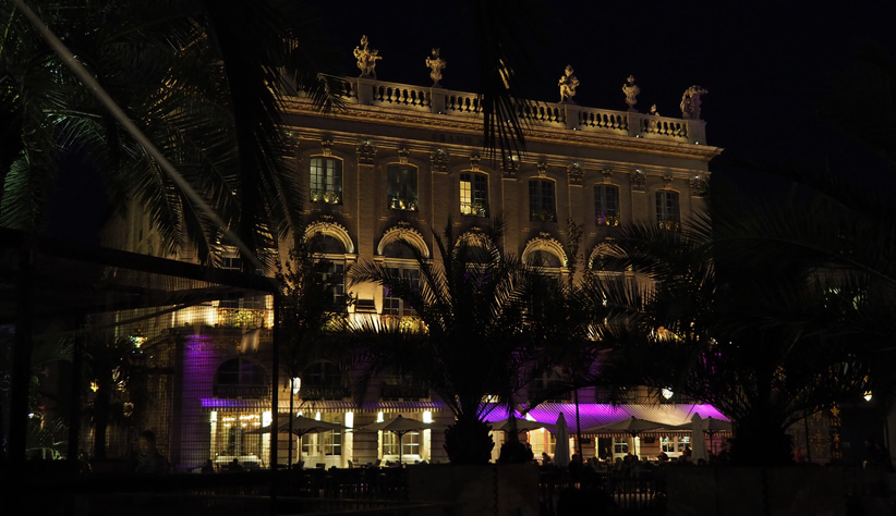 bar louis XV hotel de la reine nancy place stanislas