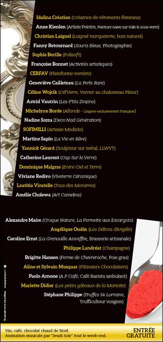 rendez-vous prestige de la saint nicolas idalina creations 2017