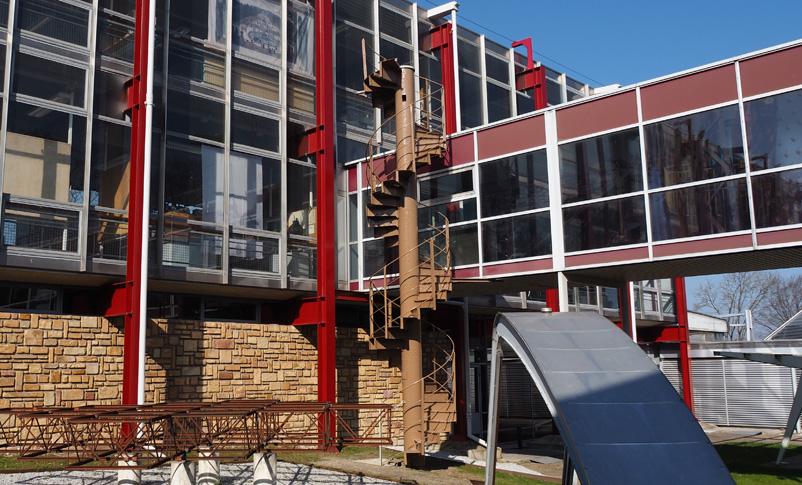 musee de l'histoire du fer jarville la malgrange nancy exposition tour eiffel made in lorraine escalier helicoidal