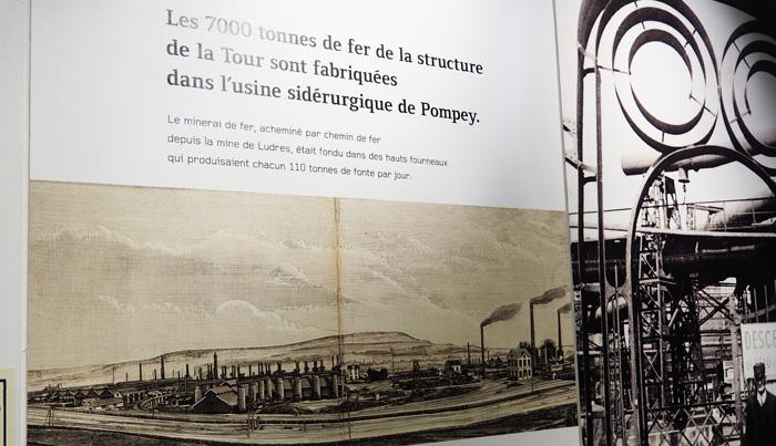 musee de l'histoire du fer jarville la malgrange nancy exposition tour eiffel made in lorraine siderurgie pompey