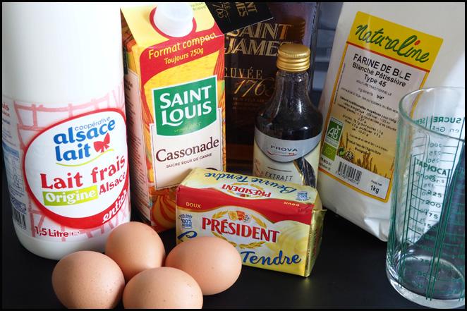 ingrédients pour recette de cannelés nancybuzz