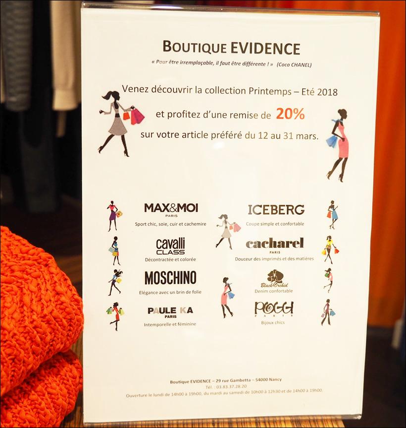 frédérique fréchin nancy boutique prest a porter evidence rue gambetta