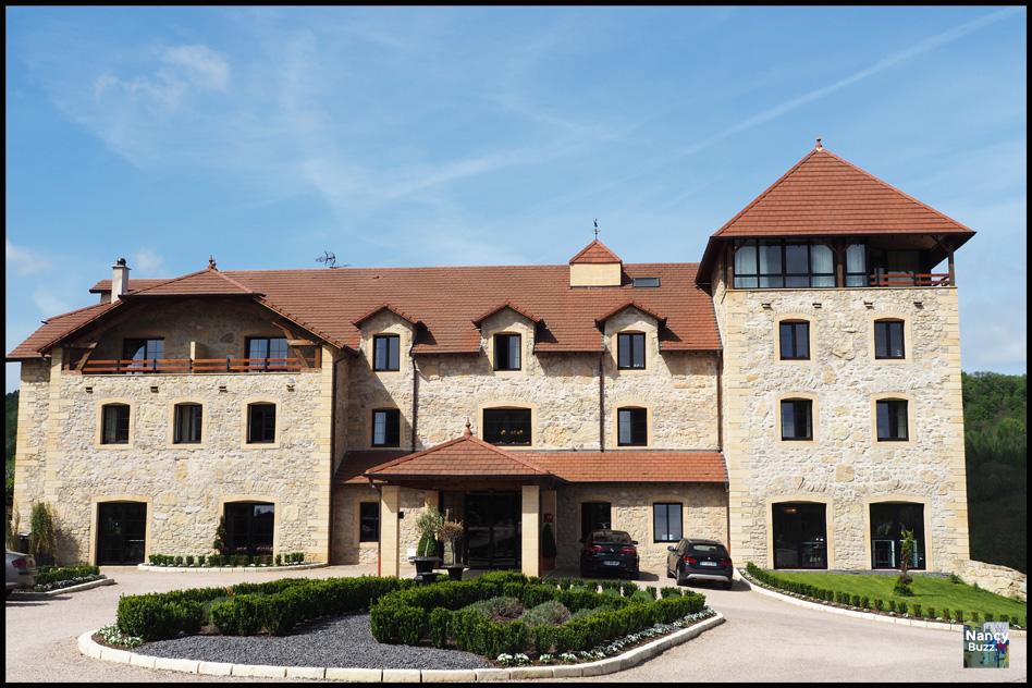 Au pays des 3 frontières en Moselle, à Montenach, le Domaine de la Klauss, hôtel 4 étoiles luxe et spa