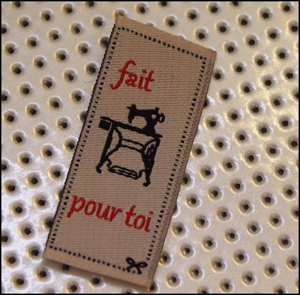 etiquette à coudre mercerie raugraff nancy couture sandrine la nenette