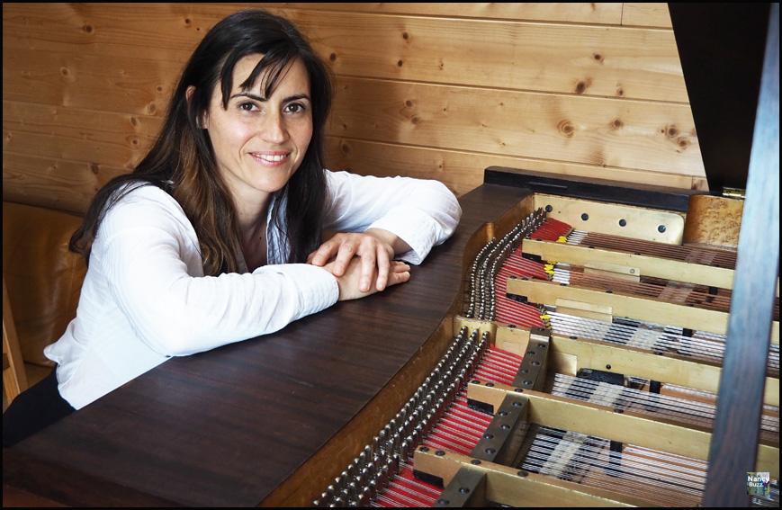 lise baudouin pianiste intermittente en lorraine ile de Groix