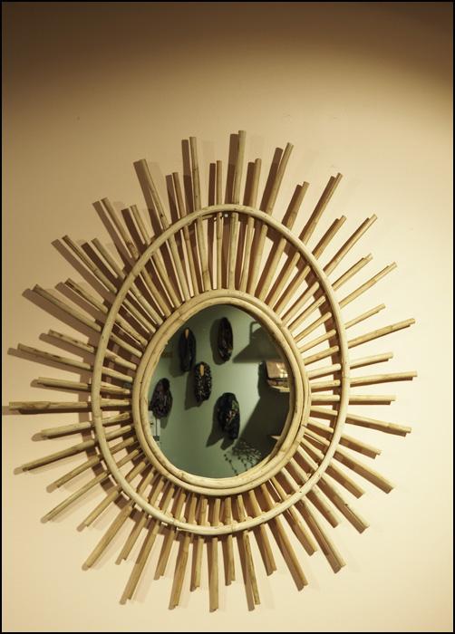 miroir roseau soleil maison goguette nancy boutique de décoration rue Saint Nicolas Justine Debon