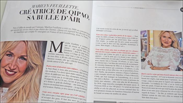 magazine nancy femmes juin 2018