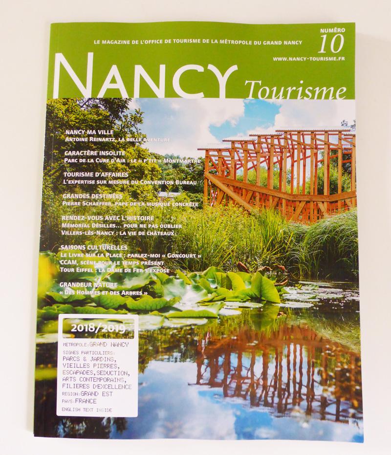 magazine numero 10 nancy tourisme
