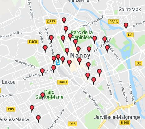 ^plan des stations velo stan lib nancy