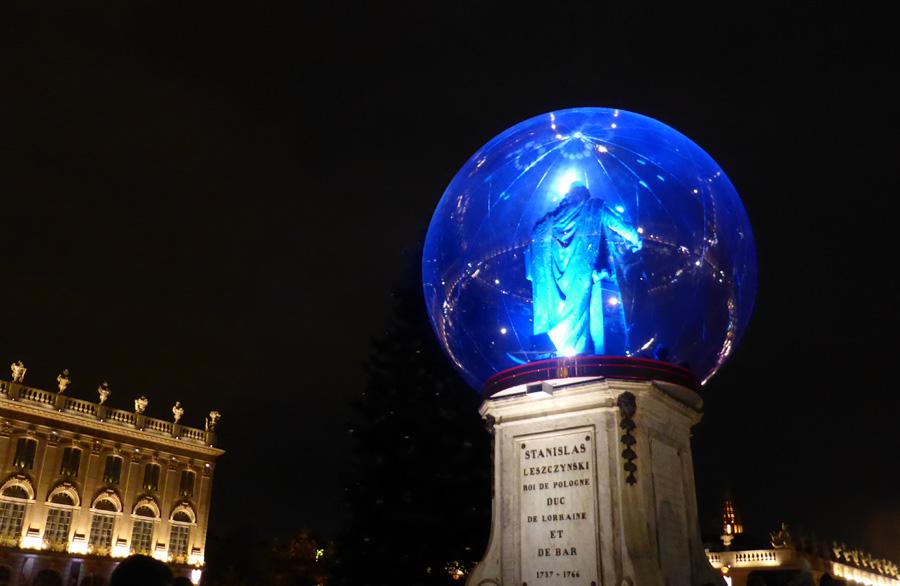 statue stanislas nancy noel 2018 globe terrestre 2016
