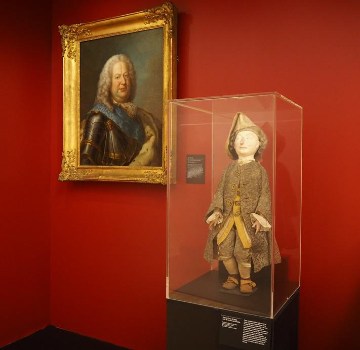 nancy expo opéra galerie poirel nicolas Ferri nain de stanislas bébé
